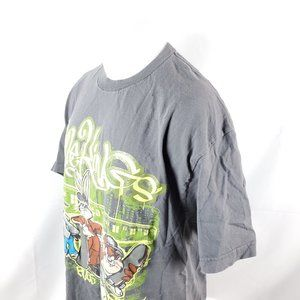 Looney Tunes Mens T-Shirt Sz XL S/S Style Kings